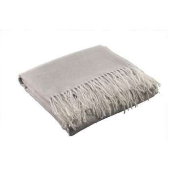 Galway Living Pearl Grey Throw