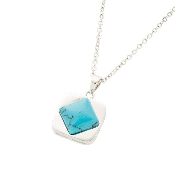 Belleek Living Jewellery Turquoise Necklace