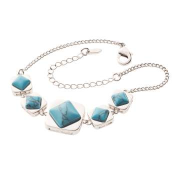 Belleek Living Jewellery Turquoise Necklace