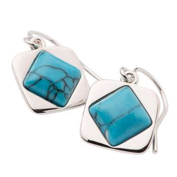 Belleek Living Jewellery Turquoise Earrings
