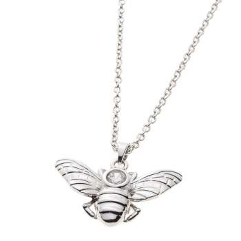 Belleek Living Jewellery Honey Bee Necklace