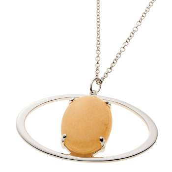 Belleek Living Jewellery Ochre Necklace