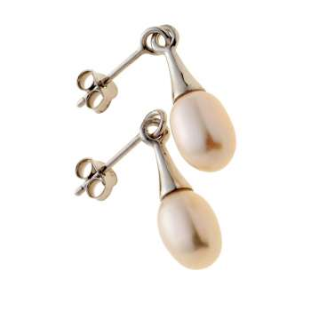 Belleek Living Jewellery Oyster Earrings