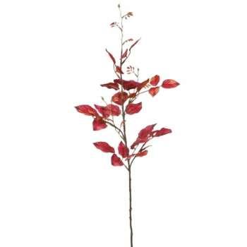 Rose Leaves Spray 88cm