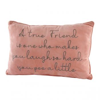 Friend Cushion Pink