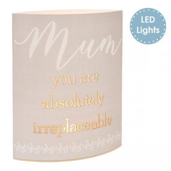 Mum Cut-Out LED Light