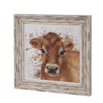 Cow Framed Plaque