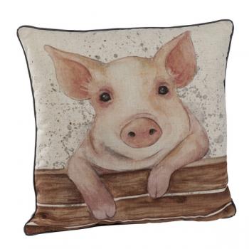 Happy Pig Cushion