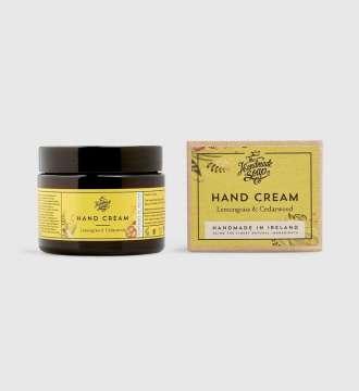 Irish Handmade Soap Company Hand Cream Lemongrass & Cedarwood