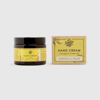 Irish Handmade Soap Company Hand Cream Lemongrass & Cedarwood