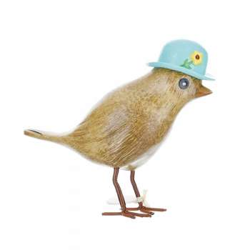 Flower Garden Bird With A Forget-Me-Not Blue Hat From Dcuk