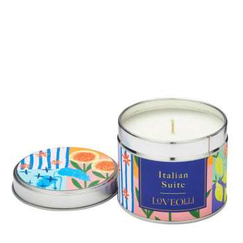 LoveOlli Italian Suite Scented Candle in Tin