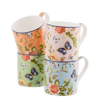 Aynsley Cottage Garden Windsor Mug Set