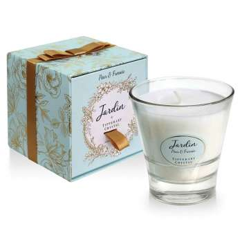 Tipperary Crystal Jardin Pear And Freesia Candle