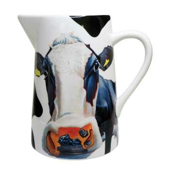 Eoin O Connor Cow Water Jug From Tipperary Crystal
