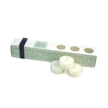 White Tea 12 pack Nightlight Candle Set