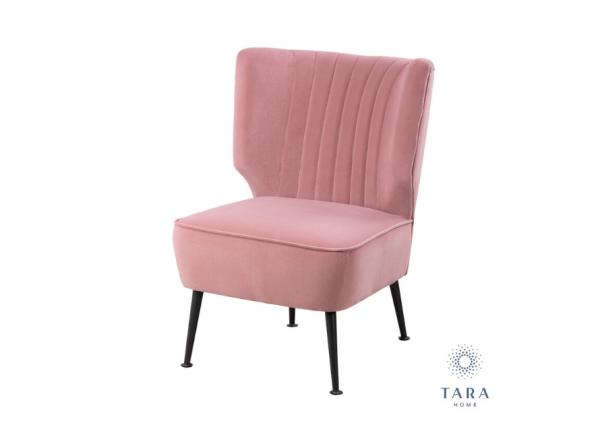 Accent Chair Teal Velvet From Tara Home