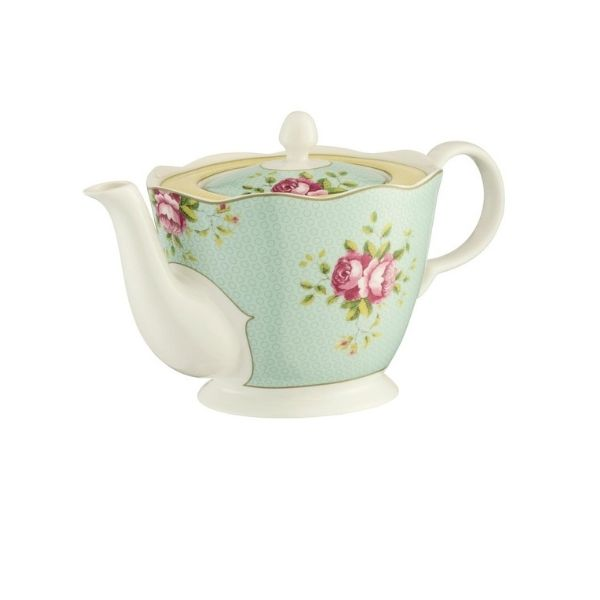 Aynsley Archive Rose China Teapot