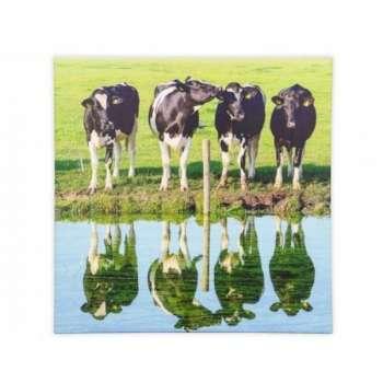 The Grange Reflections Canvas 80 x 80CM