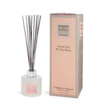 Brooke And Shoals Sweet Pea & Tea Rose Fragrance Diffuser