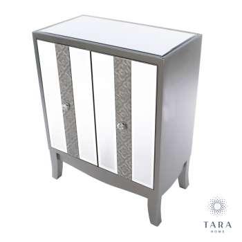 Jade 2 Door Mirrored Cabinet From Tara Home