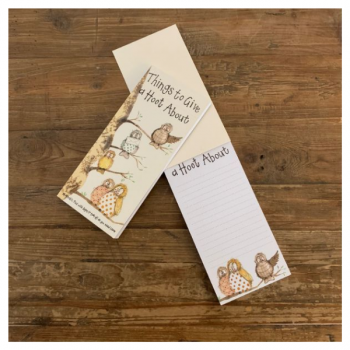 Alex Clarke Hooters Owl Magnetic To Do Lists