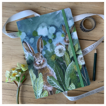 Alex Clarke Little Rabbits Large Chunky Notebook