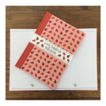 Alex Clarke Lovely Ladybirds Large Hardback Journal