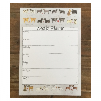 Delightful Dogs Weekly Planner