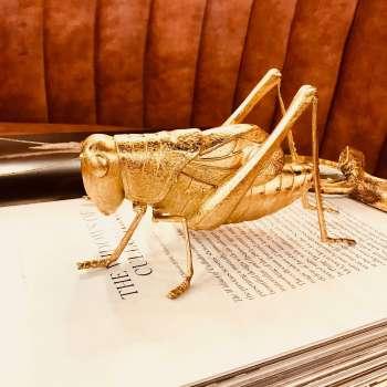 Mindy Brownes Grasshopper Sculpture