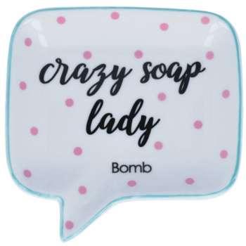 Crazy Soap Lady Soap Dish