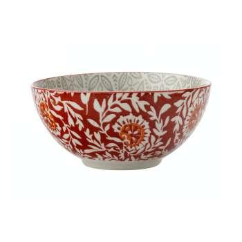 Maxwell & Williams Boho 15cm Bowl Batik Grey