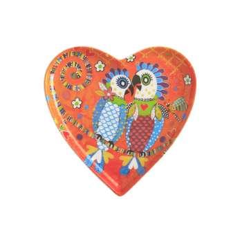 Maxwell & Williams Love Hearts 15.5cm Fan Club Heart Plate