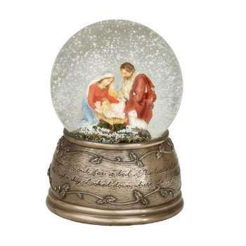 Genesis Holy Family Globe