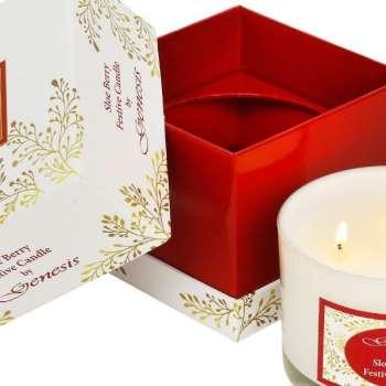 Genesis Sloe Berry Festive Candle